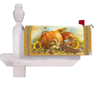 Give Thanks To The Lord, Mailbox Cover   -              By: Sandy Clough