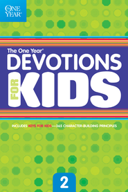The One Year Devotions for Kids #2 - eBook  -
