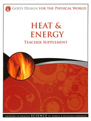 God's Design for the Physical World: Heat & Energy  Teacher Supplement (Book & CD-Rom)  -     By: Debbie Lawrence, Richard Lawrence