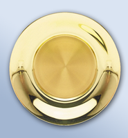 Solid Brass Paten (24K well)  -