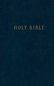 NLT Pew Bible, Blue Hardcover   -