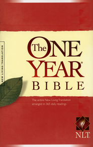 NLT One Year Bible Softcover  -