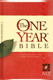 NLT One Year Bible, Hardcover   -