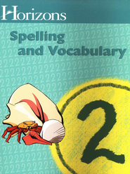 Horizons Spelling & Vocabulary 2, Student Book   -     By: Alpha Omega