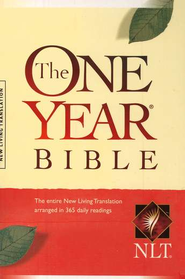 NLT One Year Bible Compact Softcover   -