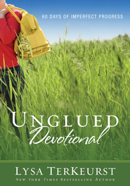 Unglued Devotional: 60 Days of Imperfect Progress - eBook  -