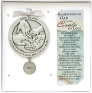 Dad Circle of Love Memorial  -