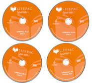 Lifepac Spanish I CD for Workbooks 1-5  -