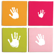 Handprint Wall Art, Set of  -