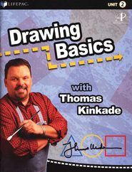 Lifepac Elective Drawing Basics Student Book 2  -