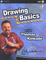 Lifepac Elective Drawing Basics Student Book 4  -