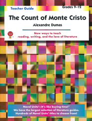 The Count of Monte Cristo, Novel Units Teacher's Guide, Gr. 9-12   -     By: Alexandre Dumas