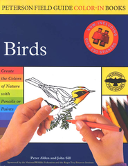 Peterson Field Guide Color-In Books, Birds   -     Edited By: Roger Tory Peterson     By: Peter C. Alden, Roger Tory Peterson     Illustrated By: John Sill