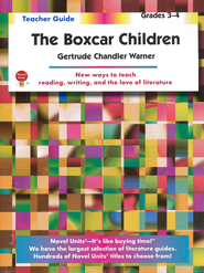 The Boxcar Children, Novel Units Teacher's Guide, Grades 3-4   -     By: Gertrude Chandler Warner