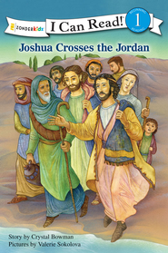 Joshua Crosses the Jordan River - eBook  -     By: Crystal Bowman