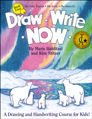 Draw Write Now, Book 4: The Polar Regions, The Arctic, The  Antarctic  -              By: Marie Hablitzel, Kim Stitzer
