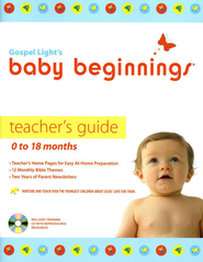 Baby Beginnings Teacher Guide 0-18 Months  With CD-Rom  -