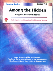 Among the Hidden, Novel Units Student Packet, Grades 7-8   -     By: Margaret Peterson Haddix