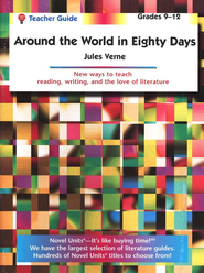 Around the World in 80 Days, Novel Units Teacher's Guide, Gr. 9-12   -     By: Jules Verne