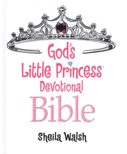 God's Little Princess: ICB Devotional Bible  - Slightly Imperfect  -