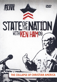 State of the Nation with Ken Ham:     The Collapse of Christian America, DVD  -