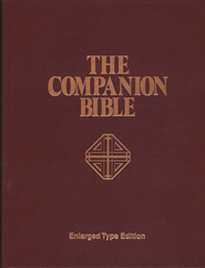 KJV Companion Bible, Hardcover, Enlarged print edition  -     Edited By: E.W. Bullinger