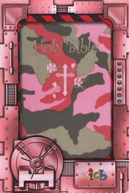 Small Hands Bible, Pink Camo, ICB  -
