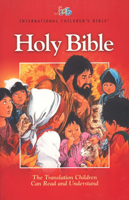 ICB Big Red Bible Revised Softcover  - Slightly Imperfect  -