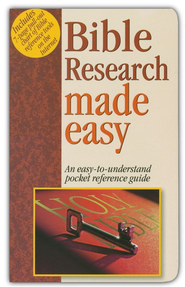 Bible Research Made Easy   -     By: Mark Water