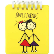 Simply Friends Sticky Notes  -