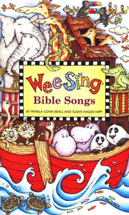 Wee Sing Bible Songs: A Celebration of the Bible in Music and  Song, Book and CD Pack  -     By: Pamela Conn Beall, Susan Hagen Nipp