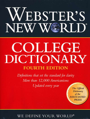 Webster's New World College Dictionary, 4th edition   -