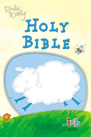 ICB Really Woolly Bible, Blue    - Imperfectly Imprinted Bibles  -