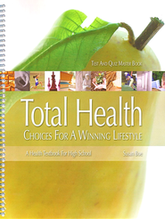 Total Health High School, Test & Quiz Master Book   -     By: Susan Boe