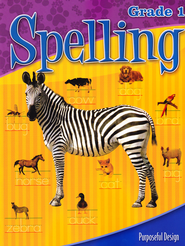 ACSI Spelling Grade 1 Student Book, Revised   -