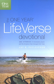 The One Year Life Verse Devotional  -     By: Jay K. Payleitner