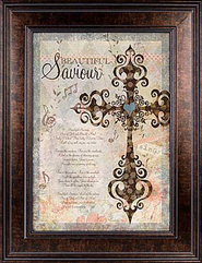 Beautiful Savior Framed Print  -