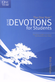 The One-Year Alive Devotions for Students   -     By: Rick Christian