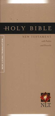 NLT Pocket Thinline New Testament with Psalms & Proverbs - Softcover ed.  -