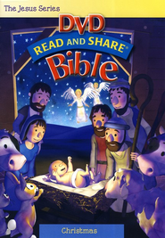 Read and Share DVD Bible: Christmas   -              By: Gwen Ellis