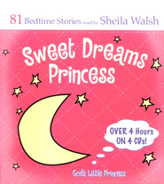 Sweet Dreams Princess, 4 CD Set   -     By: Sheila Walsh
