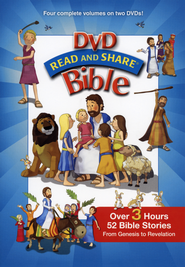 Read and Share DVD Bible, Volumes 1-4   -     By: Gwen Ellis