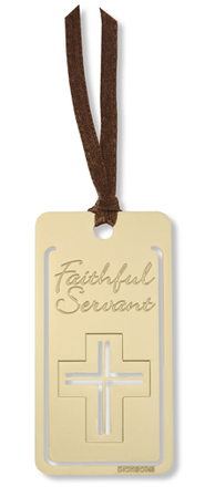 Faithful Servant Bookmark   -