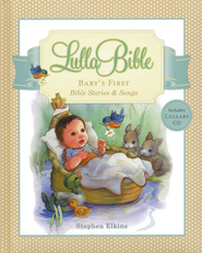 LullaBible: Baby's First Bible Stories and Songs--Book and CD - Slightly Imperfect  -     By: Stephen Elkins