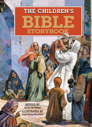 The Children's Bible Storybook   -              By: Anne de Graaf                   Illustrated By: Jose Perez Montero