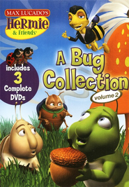 Hermie & Friends: A Bug Collection #2, DVD Set   -     By: Max Lucado