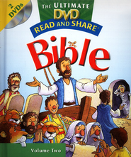 Read and Share: The Ultimate DVD Bible Storybook - Vol 2  -     By: Gwen Ellis