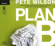 Plan B - Unabridged Audiobook on CD  -