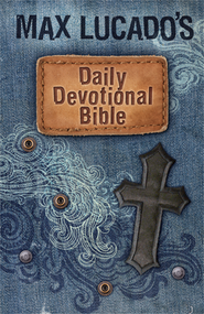 Max Lucado's Children's Daily Devotional Bible: Everyday Encouragement for Young Readers - Imperfectly Imprinted Bibles  -