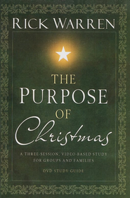 The Purpose of Christmas, Study Guide  - Slightly Imperfect  -     By: Rick Warren